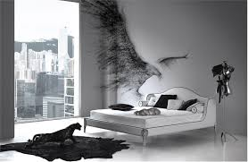 Enchanting 20 Black White And by 20 Monochrome Bedroom Ideas Newhomesandrews Com