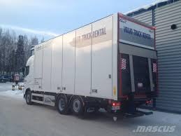 volvo trucks usa volvo fh 6x2 umpikori 7 7 m tl nostin box trucks for rent