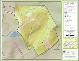 County Map Of Nj Sourland Trail Maps Sourland Conservancy