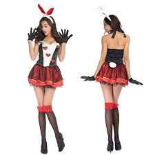 bunny costume 2016 black bunny costume woman heart