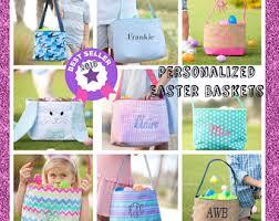 custom easter baskets for kids baskets etsy