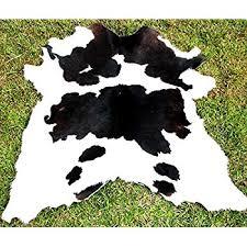 Calf Skin Rug Amazon Com Panda Hairy Rodeo Cowhides Rug Kitchen U0026 Dining