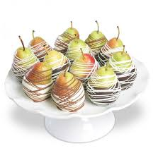 fruit gift ideas chocolate dipped pears fruit gift baskets nothing could