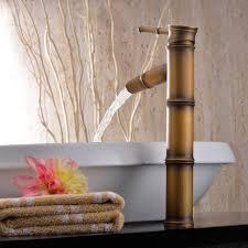bathroom sink trough sink vanity bamboo vanity under basin