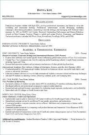 college graduate resumes exle of resume for undergraduate student publicassets us
