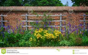 garden trellis on wall royalty free stock photos image 9677568