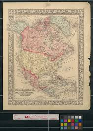 Map Me Home Map Of North America Showing Its Political Divisions And Recent
