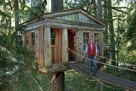 three house treehouse master pete nelson on the business of building in the trees