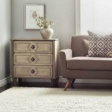 cream nightstands u0026 bedside tables for less overstock com