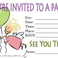 invitation card cartoon design cartoon invitation cards weareatlove com