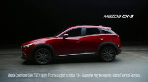 mazda finance mazda cx 3 advert youtube