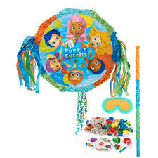 bubble guppies pinata kit birthdayexpress com