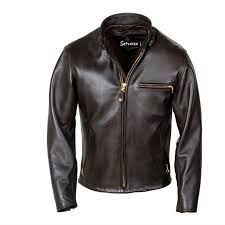 white leather motorcycle jacket schott 26