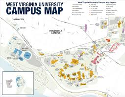Colorado State University Campus Map by Grab An Evansdale Campus Map To See One Of Our Three Campuses In