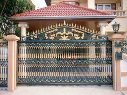 designs for homes modern homes iron entrance gate designs ideas amazing gate