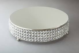 14 cake stand 14 inch nickel plated sparkle cake plateau