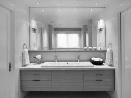 master bathroom mirror ideas bathroom scenic white porcelain rectangle vessel sink