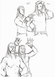 wwe wrestlers coloring pages coloring home