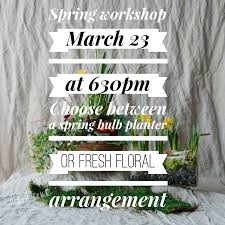 let u0027s get ready for spring flowers talk tivoli