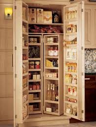 Kitchen Storage Pantry Cabinets Framed Chef S Pantry Wood Mode Custom Cabinetry
