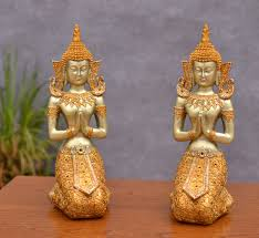 southeast asian style buddha statue ornament home decor thailand