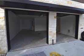 custom home garage huber residence stained concrete flooring photos premier veneers