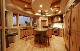 modern log home interiors 16 amazing log house kitchens you to see tin pig