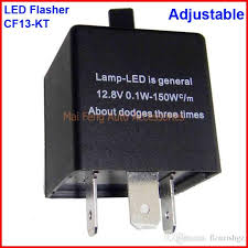 cf13 kt led flasher adjustable color 3 pin electronic relay module