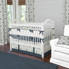 Shermag Capri Convertible Crib by Grey Navy Crib Skirt Creative Ideas Of Baby Cribs