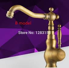 high quality brass antique european style filter faucets kitchen