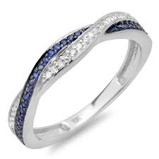 blue and white engagement rings best 25 blue rings ideas on blue diamonds