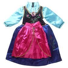 Anna Frozen Costume 2017 In Stock Frozen Anna Dress For Child Frozen Anna Dress