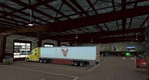Trailer Garage by Garage T L Europa V1 Mod American Truck Simulator Mod Ats Mod