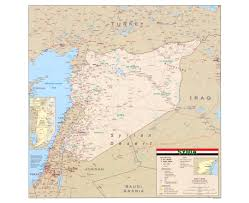 Map Of Israel And Syria by Maps Of Syria Detailed Map Of Syria In English Tourist Map
