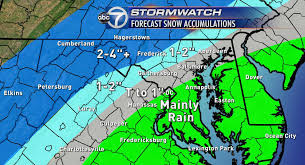 wintry mix could convert to snow through saturday wtop
