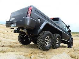 mercedes 6 x 6 this how australia imitates the mercedes g63 amg 6x6