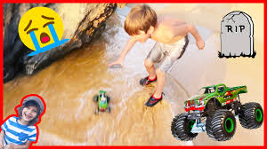watch monster truck videos monster truck lost at sea again youtube