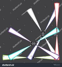 Futuristic Clock by Light Blade Light Sword Futuristic Science Stock Vector 365205968