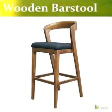 Wooden Bar Stool With Back Wooden High Back Bar Stools U2013 Sahlin Info