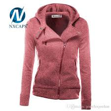 2017 custom full zipper girls hoodies side zip plain hoody workout