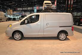 nissan nv200 chicago auto show 2014 nissan nv200 the truth about cars