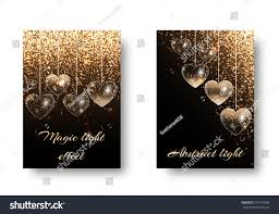 wedding backdrop design vector marriage background glowing lights twinkle stock vector