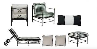 Simple Black And White Lounge Pics One Kings Lane Launches New Outdoor Furniture Collections