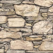 peel and stick wallpaper nuwallpaper brown hadrian stone wall peel and stick wallpaper nu2065