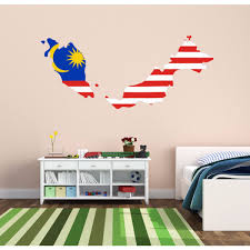 design house decor prices flag map of malaysia wall vinyl blackboard door sticker custom house