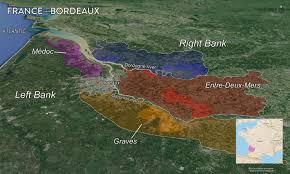 Bordeaux France Map Map France Wine Regions U2014 Tenzing