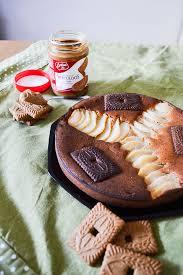 la cuisine d amandine gâteau moelleux poires speculoos et mascarpone amandise les