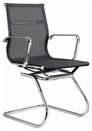 White Modern Desk Chair Modern Mesh Visitor Office Chair Modern Office Chairs By