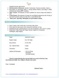 Computer Science Resume Example Bsc Resume Format Free Download Resume Samples With Free Download