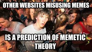 Meme Websites - memetic theory memetics know your meme